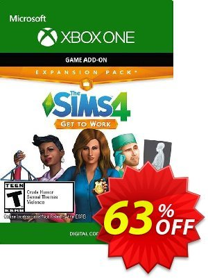 The Sims 4 Get to Work Xbox One (UK) discount coupon The Sims 4 Get to Work Xbox One (UK) Deal 2021 CDkeys - The Sims 4 Get to Work Xbox One (UK) Exclusive Sale offer for iVoicesoft