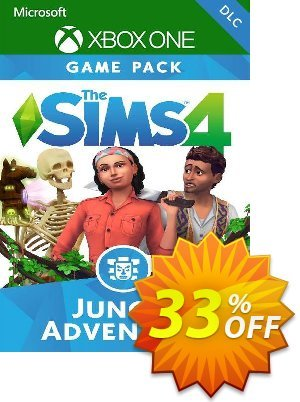 The Sims 4 - Jungle Adventure Xbox One (UK) discount coupon The Sims 4 - Jungle Adventure Xbox One (UK) Deal 2021 CDkeys - The Sims 4 - Jungle Adventure Xbox One (UK) Exclusive Sale offer for iVoicesoft