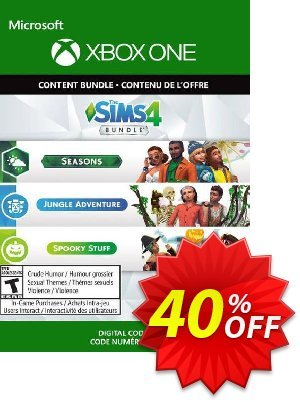 The Sims 4 - Seasons, Jungle Adventure, Spooky Stuff Xbox One (UK) discount coupon The Sims 4 - Seasons, Jungle Adventure, Spooky Stuff Xbox One (UK) Deal 2021 CDkeys - The Sims 4 - Seasons, Jungle Adventure, Spooky Stuff Xbox One (UK) Exclusive Sale offer for iVoicesoft