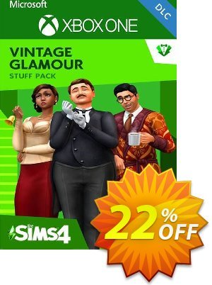 The Sims 4 - Vintage Glamour Stuff Xbox One (UK) discount coupon The Sims 4 - Vintage Glamour Stuff Xbox One (UK) Deal 2021 CDkeys - The Sims 4 - Vintage Glamour Stuff Xbox One (UK) Exclusive Sale offer for iVoicesoft