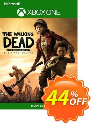 The Walking Dead: The Final Season - The Complete Season Xbox One (UK) discount coupon The Walking Dead: The Final Season - The Complete Season Xbox One (UK) Deal 2021 CDkeys - The Walking Dead: The Final Season - The Complete Season Xbox One (UK) Exclusive Sale offer for iVoicesoft