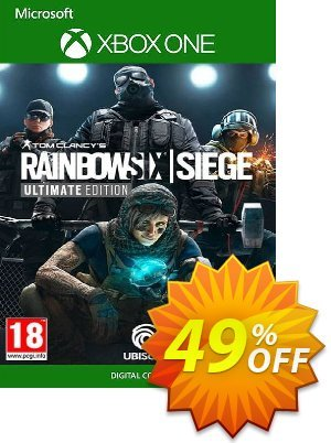 Tom Clancy's Rainbow Six Siege - Ultimate Edition Xbox One (UK) discount coupon Tom Clancy's Rainbow Six Siege - Ultimate Edition Xbox One (UK) Deal 2021 CDkeys - Tom Clancy's Rainbow Six Siege - Ultimate Edition Xbox One (UK) Exclusive Sale offer for iVoicesoft