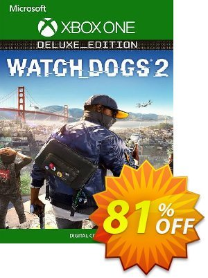 Watch Dogs 2 - Deluxe Edition Xbox One (UK) discount coupon Watch Dogs 2 - Deluxe Edition Xbox One (UK) Deal 2021 CDkeys - Watch Dogs 2 - Deluxe Edition Xbox One (UK) Exclusive Sale offer for iVoicesoft