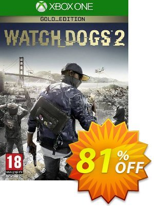 Watch Dogs 2 - Gold Edition Xbox One (UK) discount coupon Watch Dogs 2 - Gold Edition Xbox One (UK) Deal 2021 CDkeys - Watch Dogs 2 - Gold Edition Xbox One (UK) Exclusive Sale offer for iVoicesoft