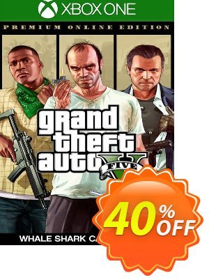 Grand Theft Auto V 5 Premium Online Edition & Megalodon Shark Card Bundle Xbox One (EU) discount coupon Grand Theft Auto V 5 Premium Online Edition & Megalodon Shark Card Bundle Xbox One (EU) Deal 2021 CDkeys - Grand Theft Auto V 5 Premium Online Edition & Megalodon Shark Card Bundle Xbox One (EU) Exclusive Sale offer for iVoicesoft