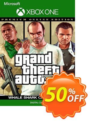 Grand Theft Auto V Premium Online Edition & Whale Shark Card Bundle Xbox One (EU) discount coupon Grand Theft Auto V Premium Online Edition & Whale Shark Card Bundle Xbox One (EU) Deal 2021 CDkeys - Grand Theft Auto V Premium Online Edition & Whale Shark Card Bundle Xbox One (EU) Exclusive Sale offer for iVoicesoft