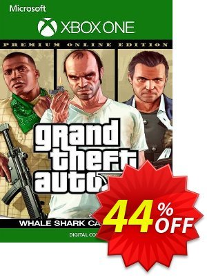 Grand Theft Auto V Premium Online Edition & Whale Shark Card Bundle Xbox One (US) discount coupon Grand Theft Auto V Premium Online Edition & Whale Shark Card Bundle Xbox One (US) Deal 2021 CDkeys - Grand Theft Auto V Premium Online Edition & Whale Shark Card Bundle Xbox One (US) Exclusive Sale offer for iVoicesoft