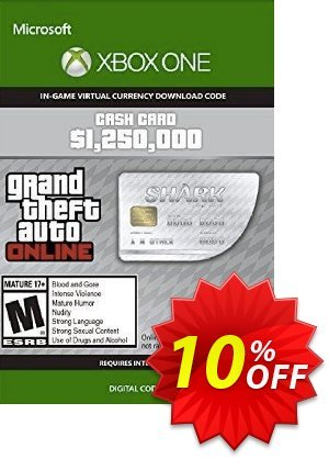 Grand Theft Auto V - Great White Shark Cash Card Xbox One (EU) discount coupon Grand Theft Auto V - Great White Shark Cash Card Xbox One (EU) Deal 2021 CDkeys - Grand Theft Auto V - Great White Shark Cash Card Xbox One (EU) Exclusive Sale offer for iVoicesoft
