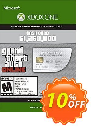 Grand Theft Auto V - Great White Shark Cash Card Xbox One (UK) discount coupon Grand Theft Auto V - Great White Shark Cash Card Xbox One (UK) Deal 2021 CDkeys - Grand Theft Auto V - Great White Shark Cash Card Xbox One (UK) Exclusive Sale offer for iVoicesoft