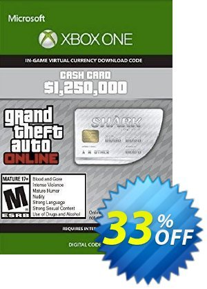 Grand Theft Auto V - Great White Shark Cash Card Xbox One (US) discount coupon Grand Theft Auto V - Great White Shark Cash Card Xbox One (US) Deal 2021 CDkeys - Grand Theft Auto V - Great White Shark Cash Card Xbox One (US) Exclusive Sale offer for iVoicesoft