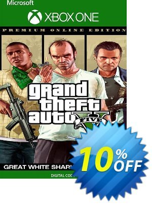 Grand Theft Auto V Premium Online Edition & Great White Shark Card Bundle Xbox One (EU) discount coupon Grand Theft Auto V Premium Online Edition & Great White Shark Card Bundle Xbox One (EU) Deal 2021 CDkeys - Grand Theft Auto V Premium Online Edition & Great White Shark Card Bundle Xbox One (EU) Exclusive Sale offer for iVoicesoft