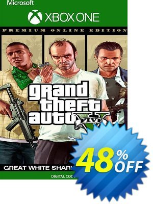 Grand Theft Auto V Premium Online Edition & Great White Shark Card Bundle Xbox One (US) discount coupon Grand Theft Auto V Premium Online Edition & Great White Shark Card Bundle Xbox One (US) Deal 2021 CDkeys - Grand Theft Auto V Premium Online Edition & Great White Shark Card Bundle Xbox One (US) Exclusive Sale offer for iVoicesoft