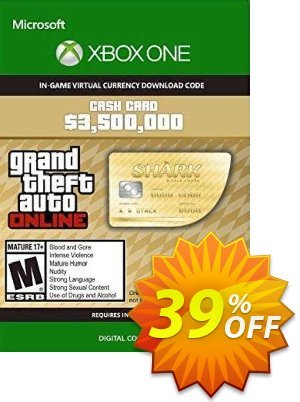 Grand Theft Auto V - Whale Shark Cash Card Xbox One (US) discount coupon Grand Theft Auto V - Whale Shark Cash Card Xbox One (US) Deal 2021 CDkeys - Grand Theft Auto V - Whale Shark Cash Card Xbox One (US) Exclusive Sale offer for iVoicesoft