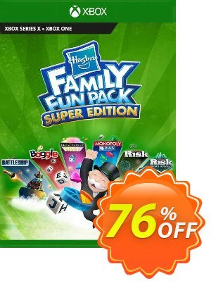 Hasbro Family Fun Pack - Super Edition Xbox One (UK) discount coupon Hasbro Family Fun Pack - Super Edition Xbox One (UK) Deal 2021 CDkeys - Hasbro Family Fun Pack - Super Edition Xbox One (UK) Exclusive Sale offer for iVoicesoft