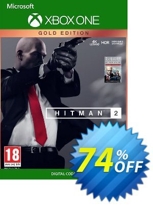 Hitman 2 - Gold Edition Xbox One (Brazil) discount coupon Hitman 2 - Gold Edition Xbox One (Brazil) Deal 2021 CDkeys - Hitman 2 - Gold Edition Xbox One (Brazil) Exclusive Sale offer for iVoicesoft