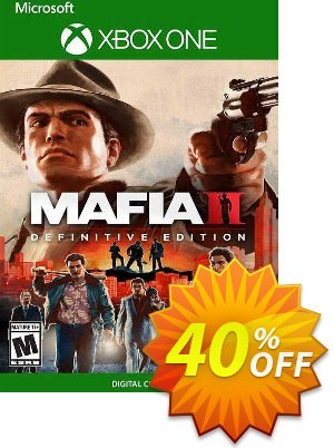 Mafia II: Definitive Edition Xbox One (UK) discount coupon Mafia II: Definitive Edition Xbox One (UK) Deal 2021 CDkeys - Mafia II: Definitive Edition Xbox One (UK) Exclusive Sale offer for iVoicesoft