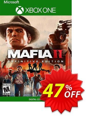 Mafia II: Definitive Edition Xbox One (US) discount coupon Mafia II: Definitive Edition Xbox One (US) Deal 2021 CDkeys - Mafia II: Definitive Edition Xbox One (US) Exclusive Sale offer for iVoicesoft