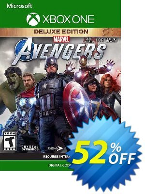 Marvel's Avengers Deluxe Edition Xbox One (WW) Coupon, discount Marvel's Avengers Deluxe Edition Xbox One (WW) Deal 2021 CDkeys. Promotion: Marvel's Avengers Deluxe Edition Xbox One (WW) Exclusive Sale offer for iVoicesoft