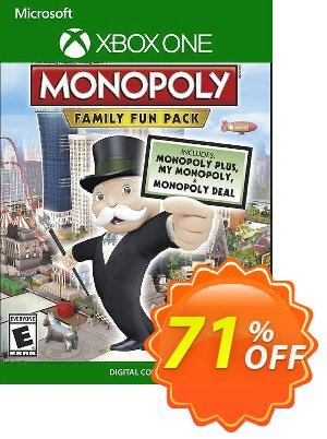 Monopoly Family Fun Pack Xbox One (UK) discount coupon Monopoly Family Fun Pack Xbox One (UK) Deal 2021 CDkeys - Monopoly Family Fun Pack Xbox One (UK) Exclusive Sale offer for iVoicesoft