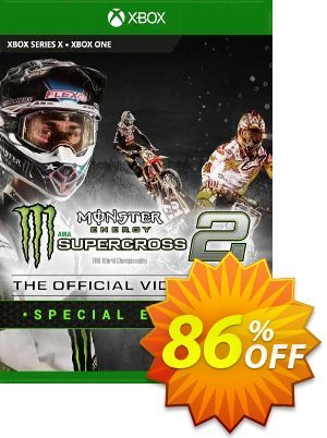Monster Energy Supercross 2 - Special Edition Xbox One (UK) discount coupon Monster Energy Supercross 2 - Special Edition Xbox One (UK) Deal 2021 CDkeys - Monster Energy Supercross 2 - Special Edition Xbox One (UK) Exclusive Sale offer for iVoicesoft