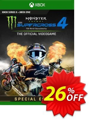 Monster Energy Supercross 4 Special Edition Xbox One (UK) discount coupon Monster Energy Supercross 4 Special Edition Xbox One (UK) Deal 2021 CDkeys - Monster Energy Supercross 4 Special Edition Xbox One (UK) Exclusive Sale offer for iVoicesoft