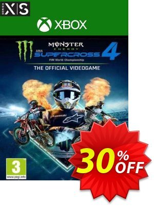 Monster Energy Supercross 4 Xbox One/Xbox Series X|S (UK) 優惠券,折扣碼 Monster Energy Supercross 4 Xbox One/Xbox Series X|S (UK) Deal 2021 CDkeys,促銷代碼: Monster Energy Supercross 4 Xbox One/Xbox Series X|S (UK) Exclusive Sale offer for iVoicesoft