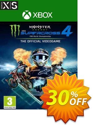 Monster Energy Supercross 4 Xbox One/Xbox Series X|S (UK) discount coupon Monster Energy Supercross 4 Xbox One/Xbox Series X|S (UK) Deal 2021 CDkeys - Monster Energy Supercross 4 Xbox One/Xbox Series X|S (UK) Exclusive Sale offer for iVoicesoft