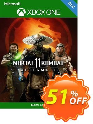 Mortal Kombat 11: Aftermath Xbox One (UK) Coupon, discount Mortal Kombat 11: Aftermath Xbox One (UK) Deal 2021 CDkeys. Promotion: Mortal Kombat 11: Aftermath Xbox One (UK) Exclusive Sale offer for iVoicesoft