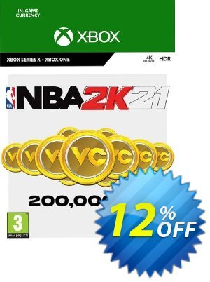 NBA 2K21: 200,000 VC Xbox One discount coupon NBA 2K21: 200,000 VC Xbox One Deal 2021 CDkeys - NBA 2K21: 200,000 VC Xbox One Exclusive Sale offer for iVoicesoft