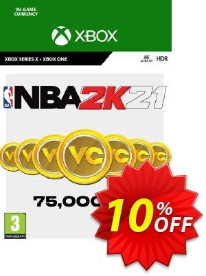 NBA 2K21: 75,000 VC Xbox One discount coupon NBA 2K21: 75,000 VC Xbox One Deal 2021 CDkeys - NBA 2K21: 75,000 VC Xbox One Exclusive Sale offer for iVoicesoft