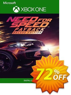 Need for Speed Payback - Deluxe Edition Xbox One (UK) discount coupon Need for Speed Payback - Deluxe Edition Xbox One (UK) Deal 2021 CDkeys - Need for Speed Payback - Deluxe Edition Xbox One (UK) Exclusive Sale offer for iVoicesoft