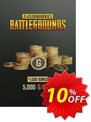 PlayerUnknowns Battlegrounds 6000 G-Coins Xbox One discount coupon PlayerUnknowns Battlegrounds 6000 G-Coins Xbox One Deal 2021 CDkeys - PlayerUnknowns Battlegrounds 6000 G-Coins Xbox One Exclusive Sale offer for iVoicesoft
