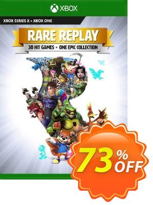 Rare Replay Xbox One (US) Coupon, discount Rare Replay Xbox One (US) Deal 2021 CDkeys. Promotion: Rare Replay Xbox One (US) Exclusive Sale offer for iVoicesoft