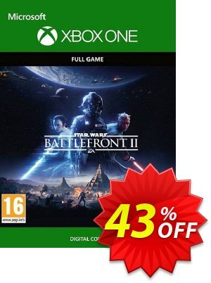 STAR WARS Battlefront II Xbox One (EU) discount coupon STAR WARS Battlefront II Xbox One (EU) Deal 2021 CDkeys - STAR WARS Battlefront II Xbox One (EU) Exclusive Sale offer for iVoicesoft