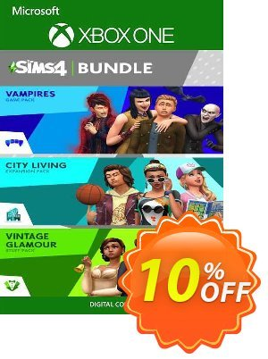 The Sims 4 Bundle - City Living, Vampires, Vintage Glamour Stuff Xbox One discount coupon The Sims 4 Bundle - City Living, Vampires, Vintage Glamour Stuff Xbox One Deal 2021 CDkeys - The Sims 4 Bundle - City Living, Vampires, Vintage Glamour Stuff Xbox One Exclusive Sale offer for iVoicesoft
