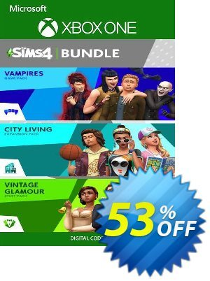 The Sims 4 Bundle - City Living, Vampires, Vintage Glamour Stuff Xbox One (UK) discount coupon The Sims 4 Bundle - City Living, Vampires, Vintage Glamour Stuff Xbox One (UK) Deal 2021 CDkeys - The Sims 4 Bundle - City Living, Vampires, Vintage Glamour Stuff Xbox One (UK) Exclusive Sale offer for iVoicesoft