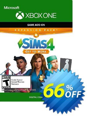 The Sims 4 Get to Work Xbox One (US) discount coupon The Sims 4 Get to Work Xbox One (US) Deal 2021 CDkeys - The Sims 4 Get to Work Xbox One (US) Exclusive Sale offer for iVoicesoft