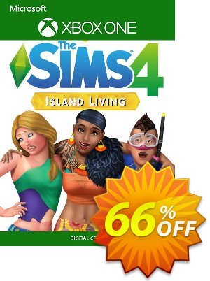 The Sims 4 Island Living Xbox One (US) discount coupon The Sims 4 Island Living Xbox One (US) Deal 2021 CDkeys - The Sims 4 Island Living Xbox One (US) Exclusive Sale offer for iVoicesoft