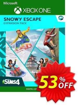 The Sims 4 - Snowy Escape Expansion Pack Xbox One (UK) discount coupon The Sims 4 - Snowy Escape Expansion Pack Xbox One (UK) Deal 2021 CDkeys - The Sims 4 - Snowy Escape Expansion Pack Xbox One (UK) Exclusive Sale offer for iVoicesoft