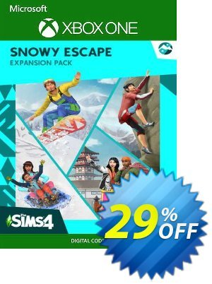 The Sims 4 - Snowy Escape Expansion Pack Xbox One (US) discount coupon The Sims 4 - Snowy Escape Expansion Pack Xbox One (US) Deal 2021 CDkeys - The Sims 4 - Snowy Escape Expansion Pack Xbox One (US) Exclusive Sale offer for iVoicesoft