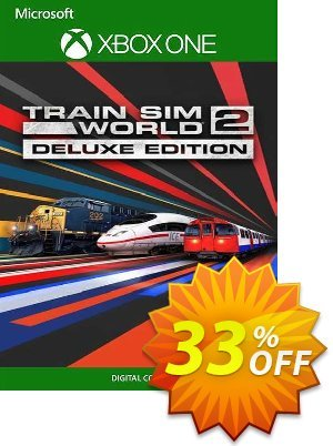 Train Sim World 2 Deluxe Edition Xbox One (UK) discount coupon Train Sim World 2 Deluxe Edition Xbox One (UK) Deal 2021 CDkeys - Train Sim World 2 Deluxe Edition Xbox One (UK) Exclusive Sale offer for iVoicesoft