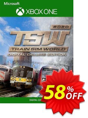 Train Sim World 2020 Deluxe Edition Xbox One (UK) discount coupon Train Sim World 2020 Deluxe Edition Xbox One (UK) Deal 2021 CDkeys - Train Sim World 2020 Deluxe Edition Xbox One (UK) Exclusive Sale offer for iVoicesoft