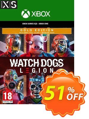 Watch Dogs: Legion - Gold Edition Xbox One/Xbox Series X|S (EU) Coupon, discount Watch Dogs: Legion - Gold Edition Xbox One/Xbox Series X|S (EU) Deal 2021 CDkeys. Promotion: Watch Dogs: Legion - Gold Edition Xbox One/Xbox Series X|S (EU) Exclusive Sale offer for iVoicesoft