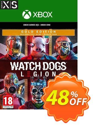 Watch Dogs: Legion - Gold Edition  Xbox One/Xbox Series X|S (UK) discount coupon Watch Dogs: Legion - Gold Edition  Xbox One/Xbox Series X|S (UK) Deal 2021 CDkeys - Watch Dogs: Legion - Gold Edition  Xbox One/Xbox Series X|S (UK) Exclusive Sale offer for iVoicesoft