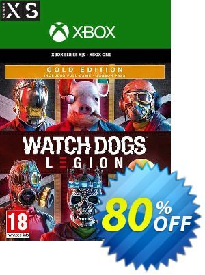 Watch Dogs: Legion - Gold Edition Xbox One/Xbox Series X|S (US) Coupon, discount Watch Dogs: Legion - Gold Edition Xbox One/Xbox Series X|S (US) Deal 2021 CDkeys. Promotion: Watch Dogs: Legion - Gold Edition Xbox One/Xbox Series X|S (US) Exclusive Sale offer for iVoicesoft