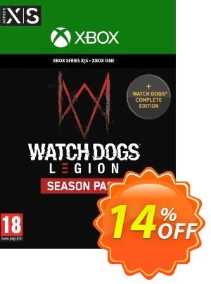 Watch Dogs: Legion Season Pass Xbox One/Xbox Series X|S discount coupon Watch Dogs: Legion Season Pass Xbox One/Xbox Series X|S Deal 2021 CDkeys - Watch Dogs: Legion Season Pass Xbox One/Xbox Series X|S Exclusive Sale offer for iVoicesoft