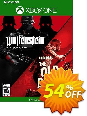 Wolfenstein: The Two Pack Xbox One (UK) discount coupon Wolfenstein: The Two Pack Xbox One (UK) Deal 2021 CDkeys - Wolfenstein: The Two Pack Xbox One (UK) Exclusive Sale offer for iVoicesoft