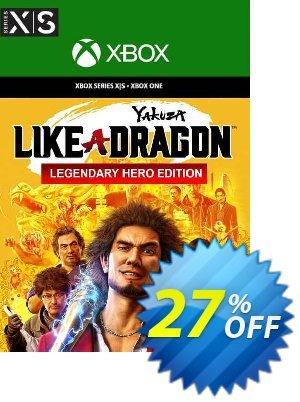 Yakuza: Like a Dragon Legendary Hero Edition  Xbox One/Xbox Series X|S (EU) Coupon, discount Yakuza: Like a Dragon Legendary Hero Edition  Xbox One/Xbox Series X|S (EU) Deal 2021 CDkeys. Promotion: Yakuza: Like a Dragon Legendary Hero Edition  Xbox One/Xbox Series X|S (EU) Exclusive Sale offer for iVoicesoft