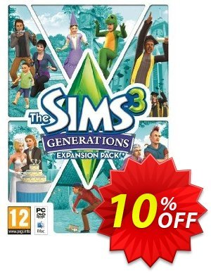 The Sims 3 - Generations Expansion Pack (PC/Mac) discount coupon The Sims 3 - Generations Expansion Pack (PC/Mac) Deal - The Sims 3 - Generations Expansion Pack (PC/Mac) Exclusive offer for iVoicesoft