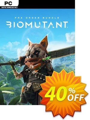 Biomutant + Pre-Order Bonus PC Coupon discount Biomutant + Pre-Order Bonus PC Deal 2021 CDkeys